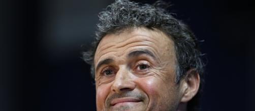 Il tecnico del Barcellona, Luis Enrique
