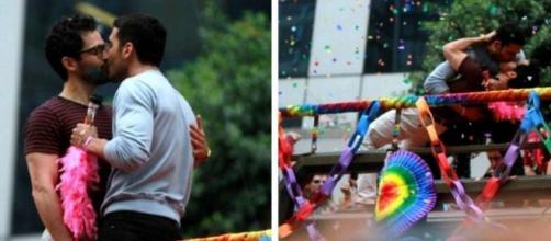 ¡Pillado! ¡Miguel Ángel Silvestre se enrolla con un hombre en Brasil!