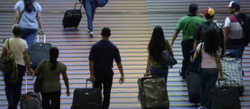 Profesionales de Venezuela emigrando del país