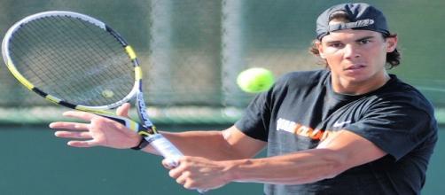 Rafael Nadal at BNP Paribas Open back in 2012/ Photo: Christian Mesiano (Flickr) CC BY-SA 2.0