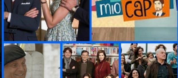 Alcune serie televisive di rai uno