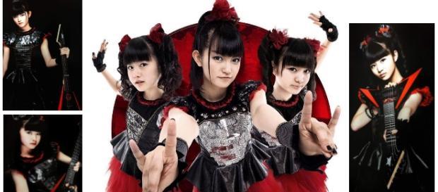 Babymetal v.li.: Yui,16; Suzuka,18; Moa,16
