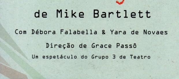 Contrações, de Mike Bartlett. Com Débora Falabella e Yara de Novaes
