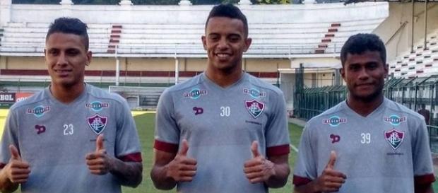 Fluminene apresenta três reforços para o Brasileirão (Fonte: Reprodução Instagram)