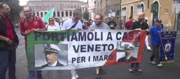 Il rientro in Italia di Salvatore Girone