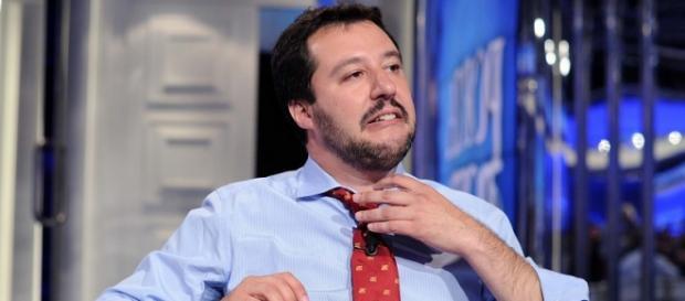 Il segretario nazionale della Lega Nord, Matteo Salvini