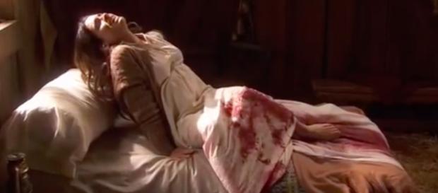 Il Segreto, Ines rischia di morire dopo il parto