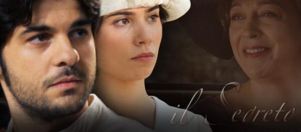 """La telenovela """"Il Segreto"""" in onda su Canale 5"""