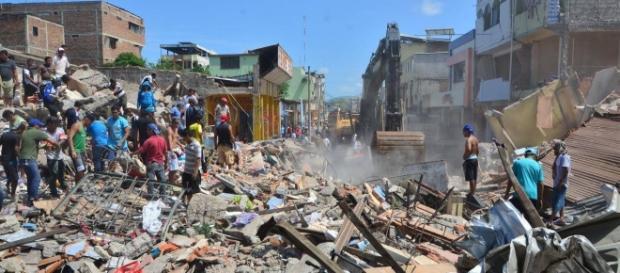 Las costas ecuatorianas fueron las más afectadas por el sismo de 7,8 lo cual trajo como consecuencia la ausencia de temporaditas este fin de semana.