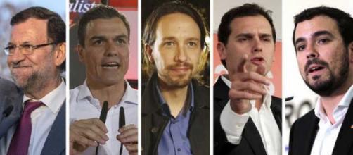 Candidatos a las elecciones generales españolas