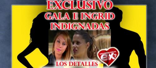 Gala e Ingrid Indignadas con Oriana