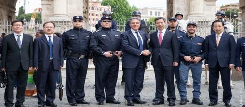 Polizia cinese in Italia per un progetto sperimentale