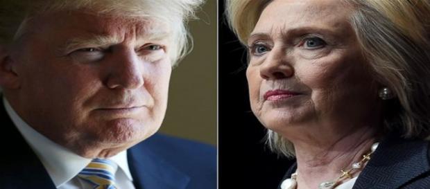 Donald Trump e Hillary Clinton, i favoriti per la corsa alla Casa Bianca