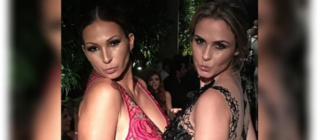 Fãs comemoraram amizade de Valesca e Ana Paula