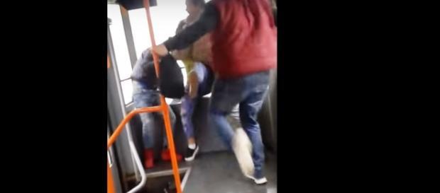 Filmarea cu țiganii agresați în tramvaiul 41 a devenit virală