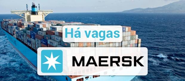Maersk está contratando em todo o mundo - Foto: Reprodução Setubalnarede