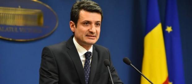 Ministrul Sănătății, Patriciu Achimaş-Cadariu. Foto: Facebook