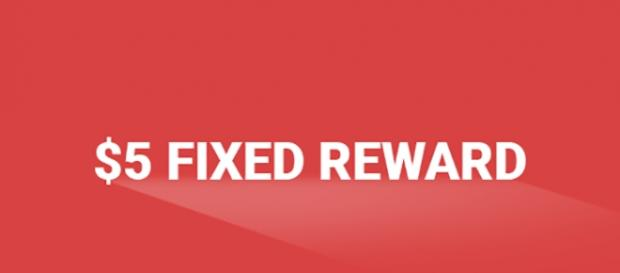 Month of May $5 Fixed Reward. Credit to Blasting News