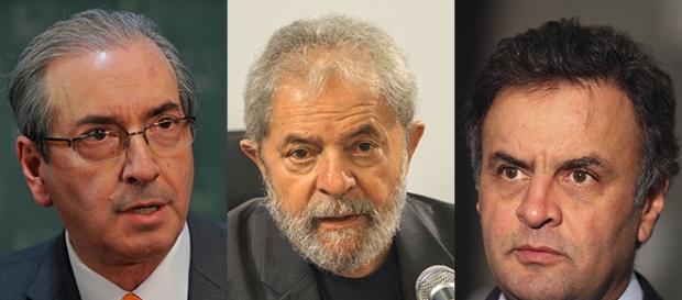 Os três foram denunciados por Janot