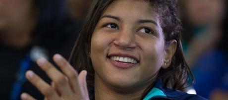 Sarah Menezes é esperança brasileira de medalha. Foto: Wikipedia