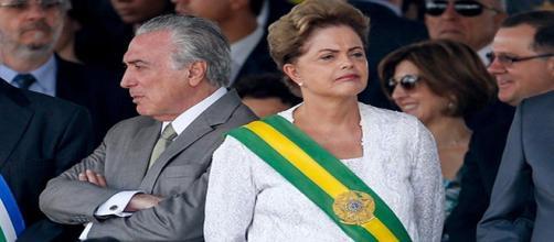 Cenário cada vez pior entre Dilma e Temer