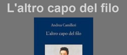 Cover del nuovo romanzo di Camilleri