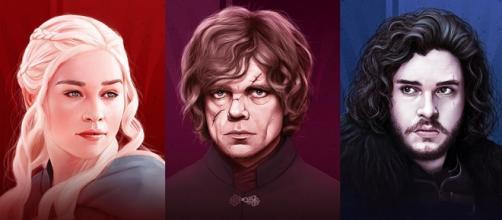 Daenerys, Tyrion e Jon.. Targaryen?