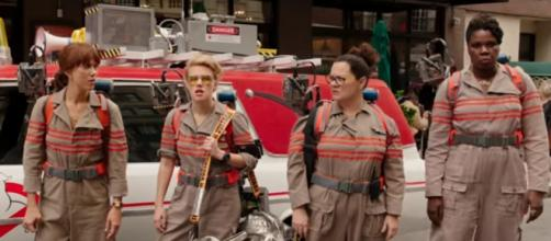 "Fans continue to be divided over the new ""Ghostbusters"" following trailer release. (Credit: ""Ghostbusters"" trailer via YouTube)"