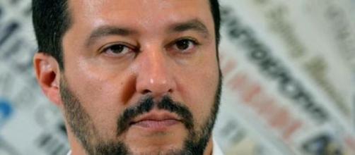 Matteo Salvini all'Università di Bologna