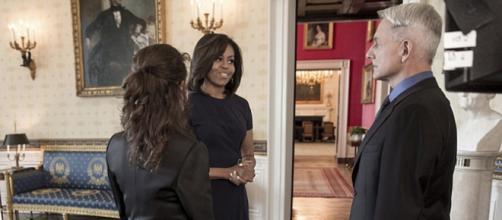 Michelle Obama on NCIS: Photo Courtesy Variety News
