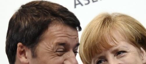 Renzi ha incontrato a Roma la cancelliera tedesca Angela Merkel