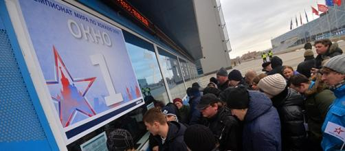 Russian are looking at prices for Ice Hockey World Championship \ via Ria Novost,i www.ria.ru