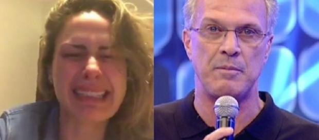 Ana Paula e Pedro Bial - Big Brother Brasil