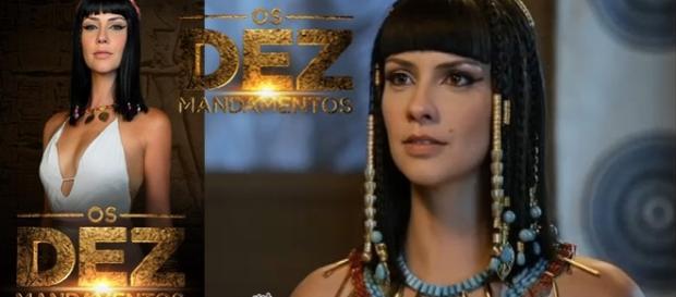 Camila Rodrigues foi a rainha Nefertari