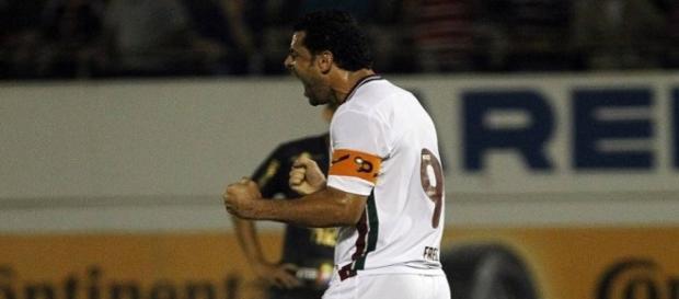 Fred encerrou um jejum de 10 jogos sem marcar gol.