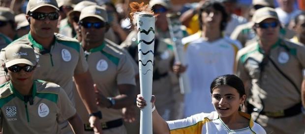 Hanan, jovem síria. Foto por Rio2016