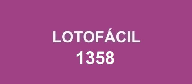 Lotofácil 1358; Resultado do prêmio R$ 1,7 milhão anunciado.