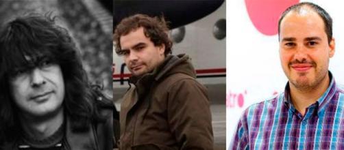 Los tres periodistas liberados