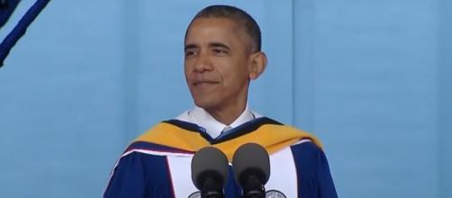 Screenshot of President Barack Obama at Howard University. The White House/YoutTube.