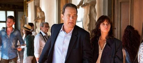 "Tom Hanks e Felicity Jones impegnati nelle riprese di ""Inferno"""