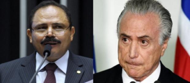 Maranhão e Michel Temer - Foto/Reprodução