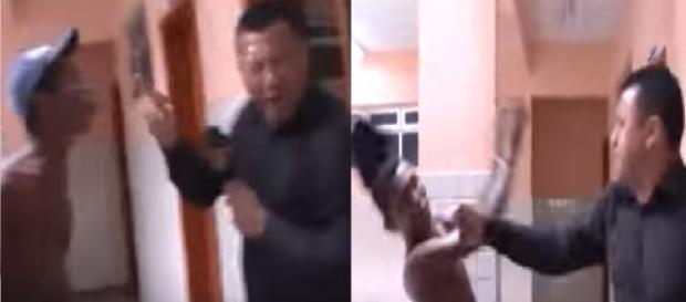 Repórter da soco em criminoso - Veja o vídeo