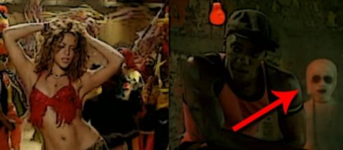 ¿Fantasma en vídeo de Shakira?