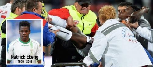 Patrick Ekeng morre aos 26 anos em partida de futebol