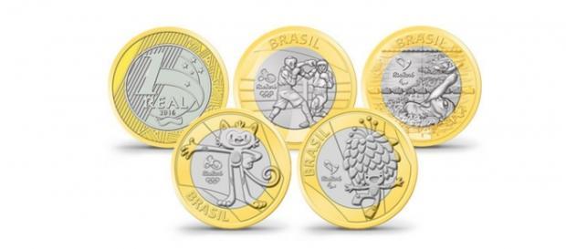 As moedas das Olimpíadas estão fazendo grande sucesso