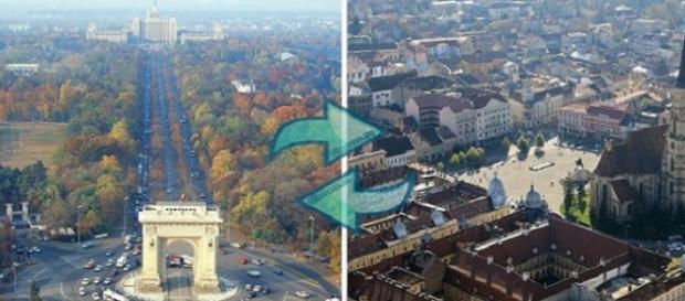 București versus Cluj- Napoca. Concurența este benefică