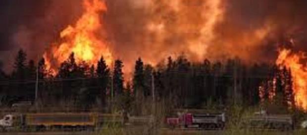 El incendio de grandes dimensiones de Fort McMurray