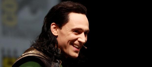 Tom Hiddleston dressed as Loki (Wikimedia)