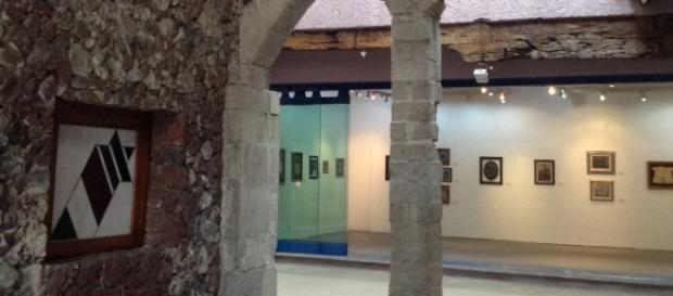La casona antigua renovada para dar sede al Instituto.
