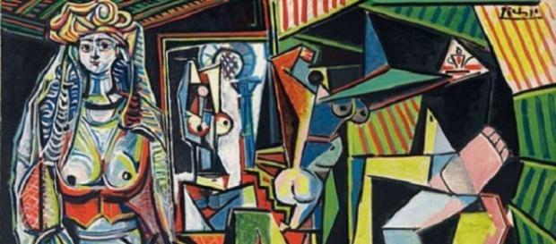 Les femmes d'Alger di Pablo Picasso